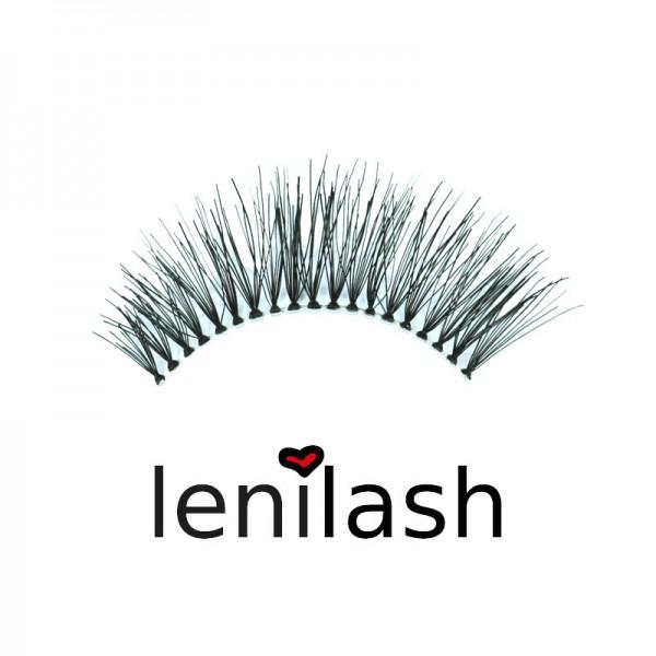 lenilash - False Eyelashes - Black - Nr. 106 - Human Hair