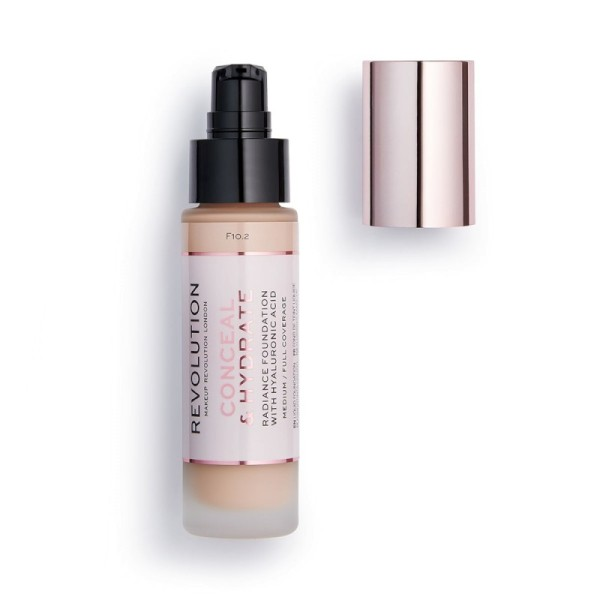 Revolution - Foundation - Conceal & Hydrate Foundation - F10.2