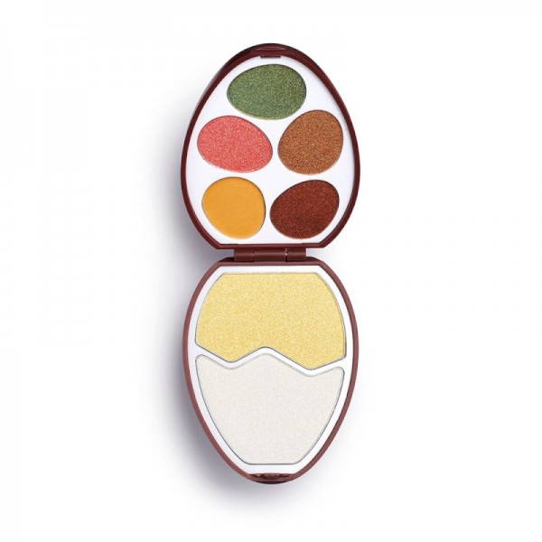 I Heart Revolution - Lidschattenpalette - Face And Shadow Palette - Easter Egg - Chocolate