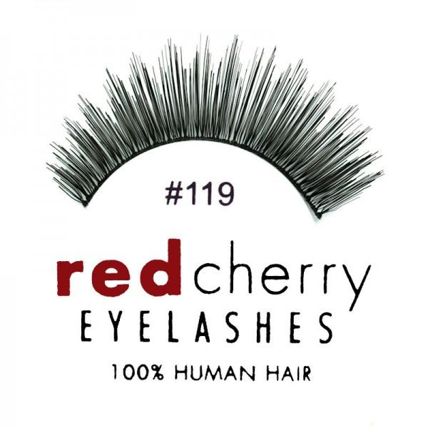 Red Cherry - False Eyelashes No. 119 Hunter - Human Hair
