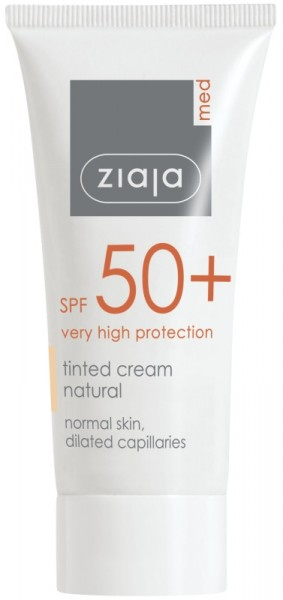Ziaja Med - Tinted day care - Tinted Cream SPF 50+