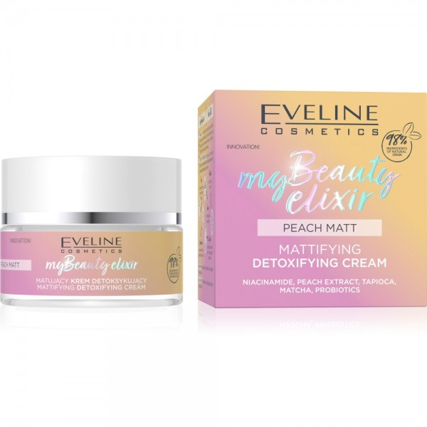 Eveline Cosmetics - Gesichtscreme - My Beauty Elixir Mattifying Detoxfying Cream