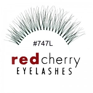 Red Cherry - False Eyelashes No. 747L Phoebe - Human Hair