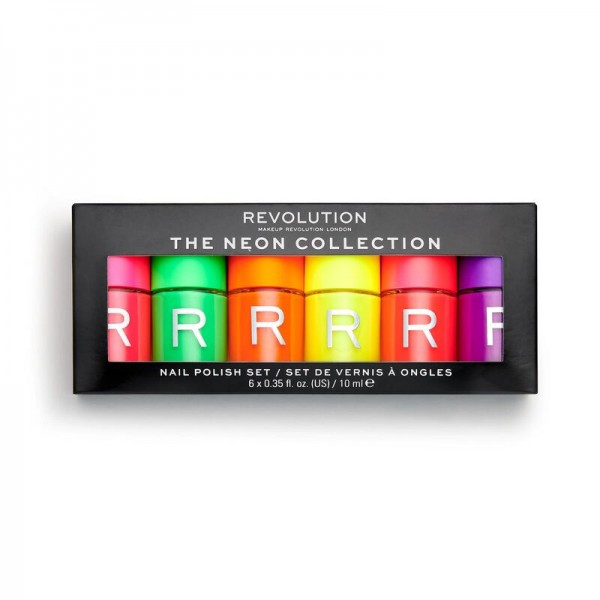 Revolution - Neon Nail Paint Set