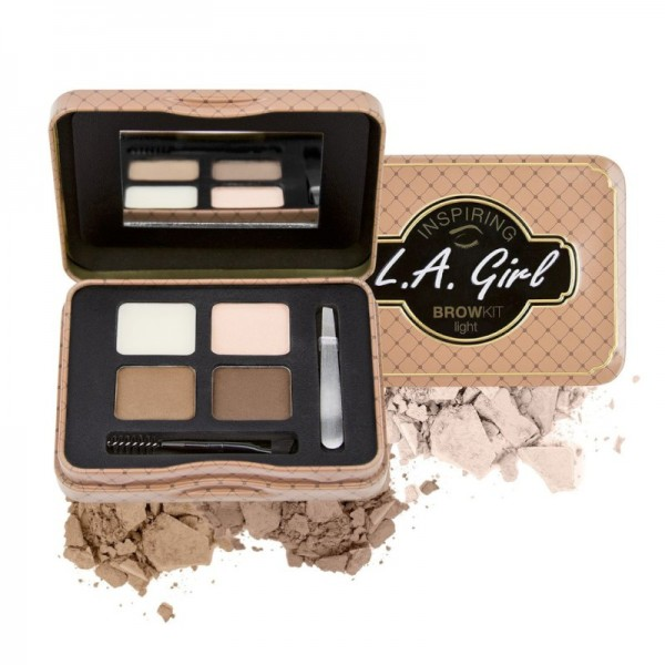 LA Girl - Augenbrauenpalette - Inspiring Eyebrow Tin - Light and Bright