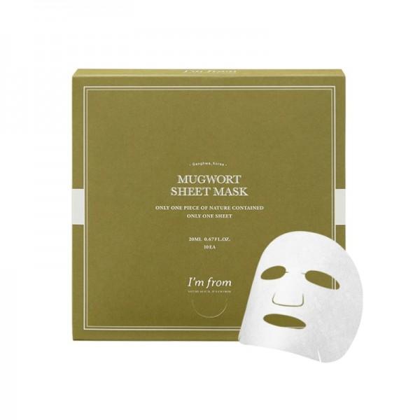 I'm from - Face Mask - Mugwort Sheet Mask