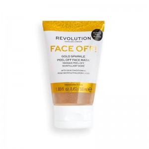 Revolution - Gesichtsmaske - Gold Glitter Peel Off Mask