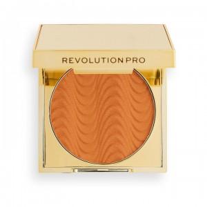 Revolution Pro - Puder - CC Perfecting pressed powder - Warm Golden