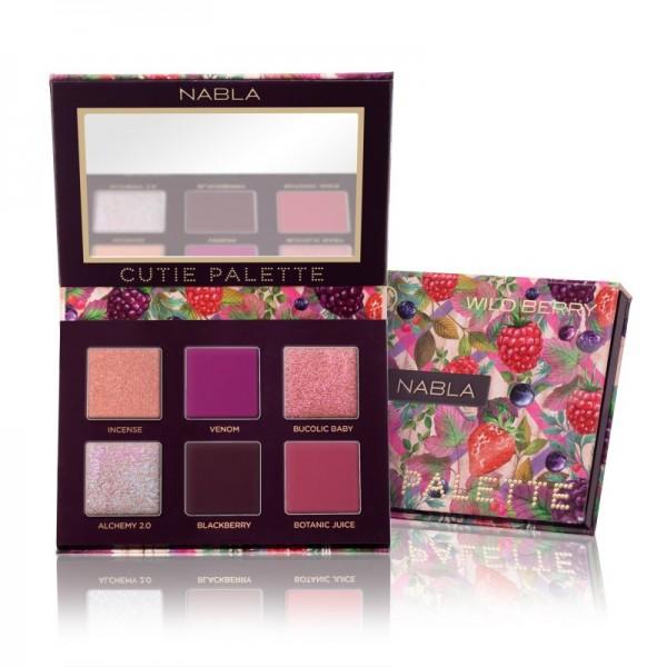 Nabla - Lidschattenpalette - Cutie Collection - Cutie Palette - Wild Berry