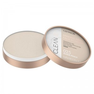 Catrice - Puder - Clean ID Mineral Matt Face Powder - 025 Warm Peach