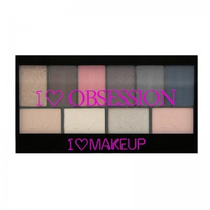 I Heart Makeup - Lidschatten Palette - I Heart Obsession Palette - Paris