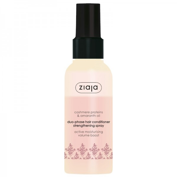 Ziaja - Haarpflegespray - Cashmere & Amaranth Oils Duophase Hair Conditioner Strengthening Spray