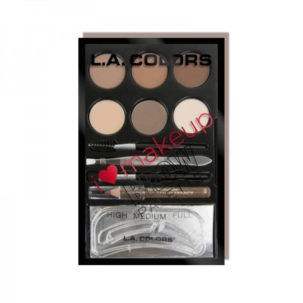 LA Colors - Augenbrauenpalette - I Heart Makeup Brow - Light-Medium