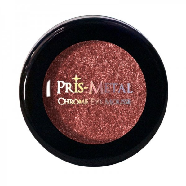 J.Cat - Lidschatten - Pris-Metal Chrome Eye Mousse - Flamin' Spark