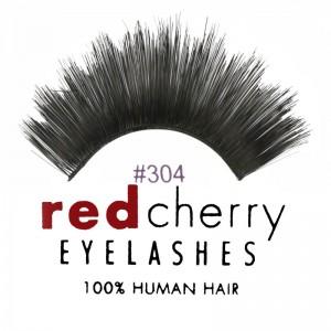 Red Cherry - Falsche Wimpern Nr. 304 Giovanna - Echthaar