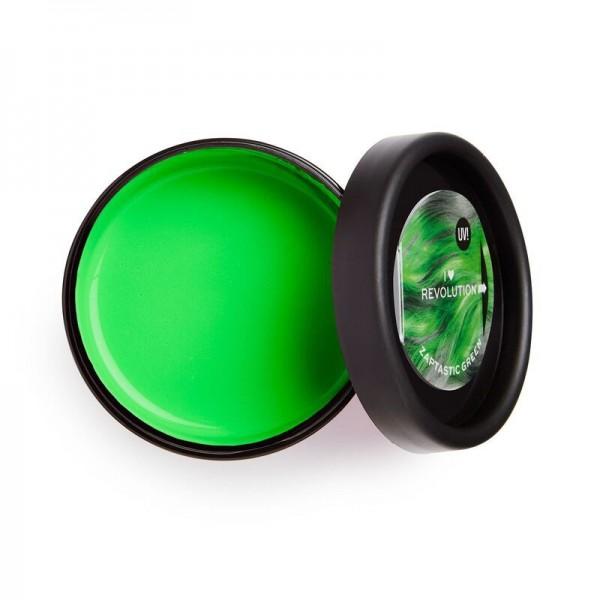 I Heart Revolution - UV Neon Green Hair Make Up