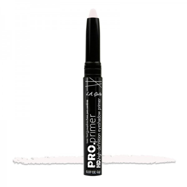 L.A. Girl - Primer - Pro Primer - High-Definition Eyeshadow Primer - GEB195 - White