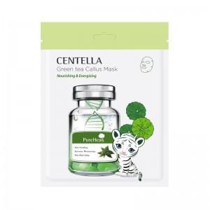 PureHeals - Gesichtsmaske - Centella Green Tea Callus Mask