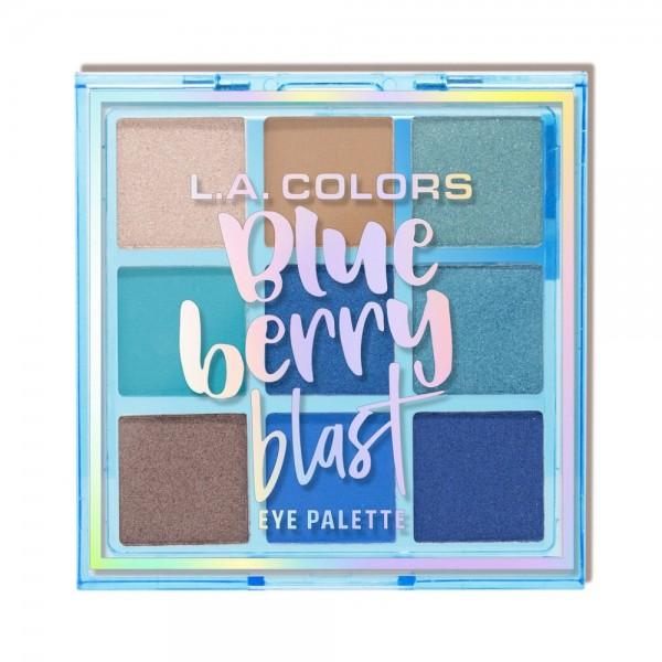 LA Colors - Eyeshadow Palette - Blue Berry Blast Eye Palette