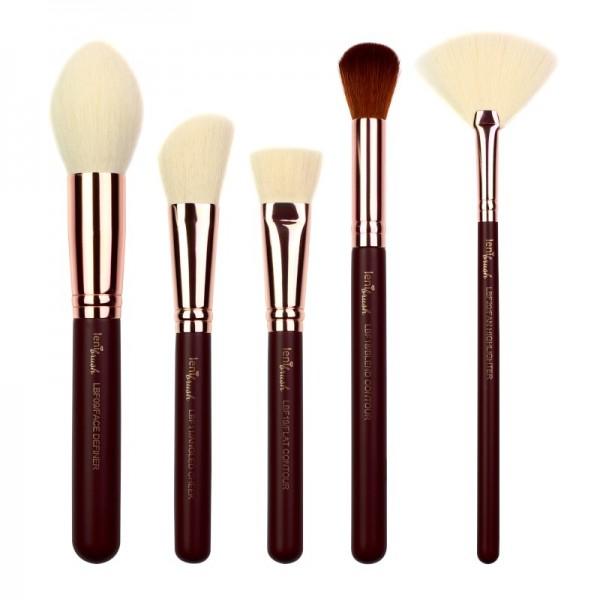 lenibrush - Kosmetikpinselset - Face Definition Set - Midnight Plum Edition