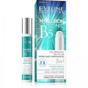 Eveline Cosmetics - Augenpflege - Hyaluron Clinic Roll-On Eye Gel