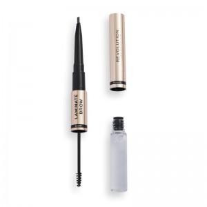 Revolution - Eyebrow Pencil & Gel - Laminate Brow - Granite