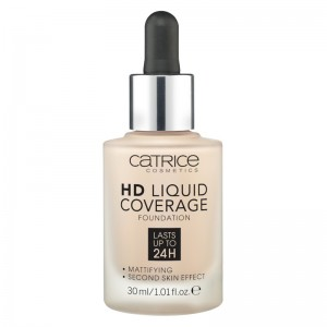 Catrice - Foundation - HD Liquid Coverage Foundation - 010 Light Beige