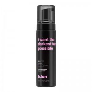 b.tan - Self Tan - i want the darkest tan possible - 1 hour self tan mousse - darker