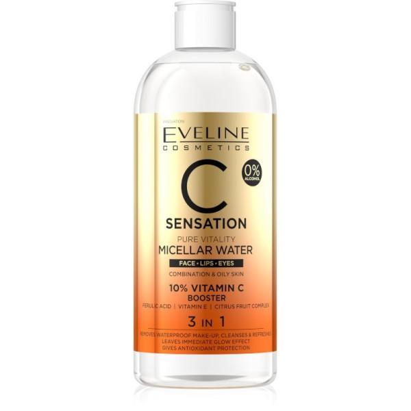 Eveline Cosmetics - C Sensation Pure Vitality Micellar Water - 400ml