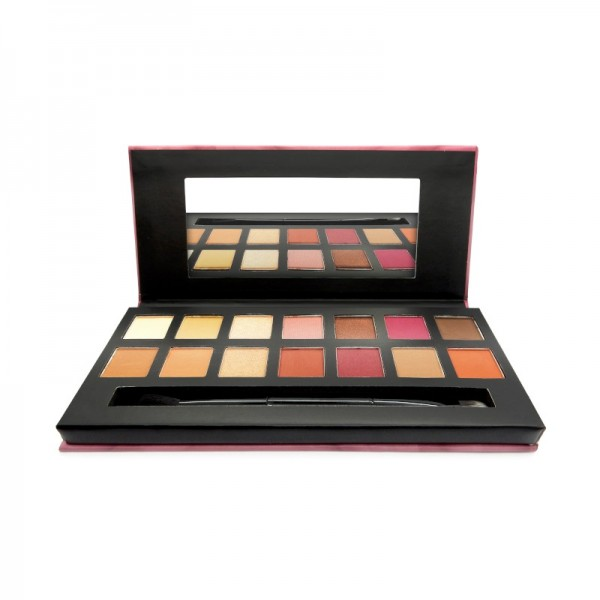 W7 - Eyeshadow Palette - Eye Colour Palette - Delicious - Natural & Berry