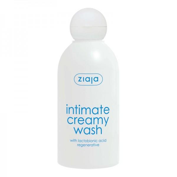 Ziaja - Intimate Creamy Wash - Regenerative with Lactobionic Acid