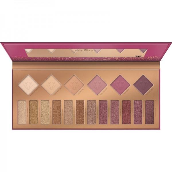 essence - Lidschattenpalette - be royal, not cute! eyeshadow palette - Gold & Berry