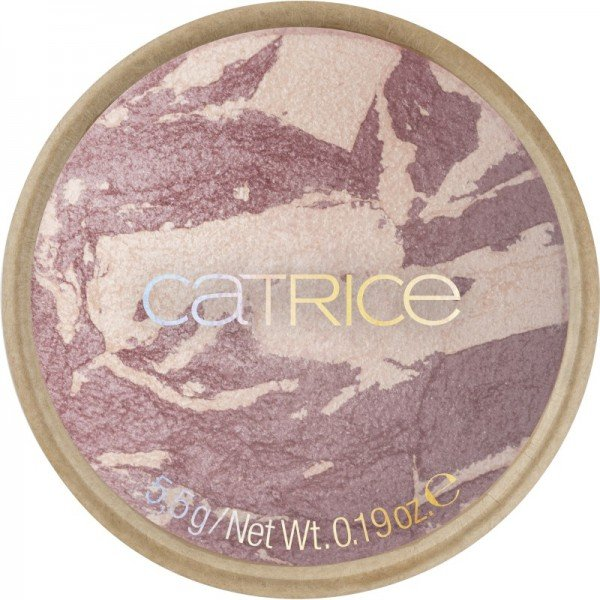 Catrice - Pure Simplicity Baked Blush - C04 Moody Plum