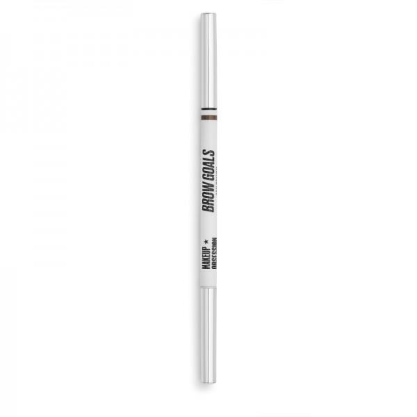 Makeup Obsession - Augenbrauenstift - Brow Goals - Brow Pencil Ash Brown