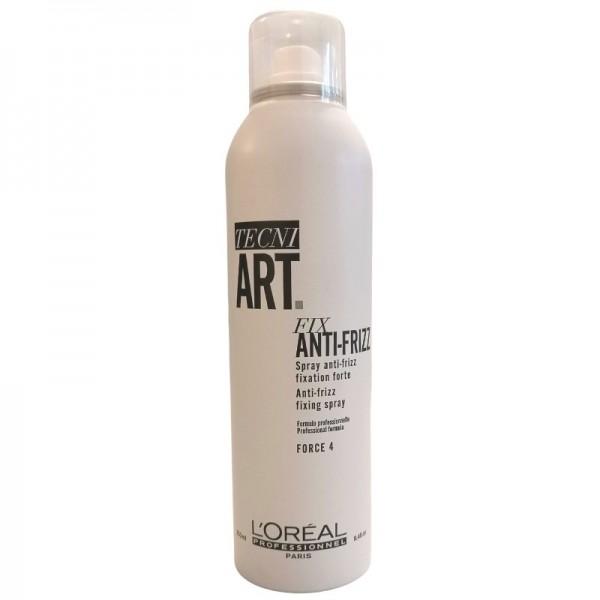 Loreal Professionnel - Hairspray - Tecni Art Fix Anti-Frizz Fixing Spray - 250ml