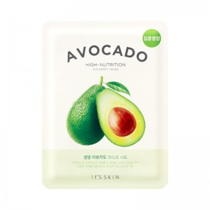 Its Skin - Gesichtsmaske - The Fresh Mask Sheet - Avocado