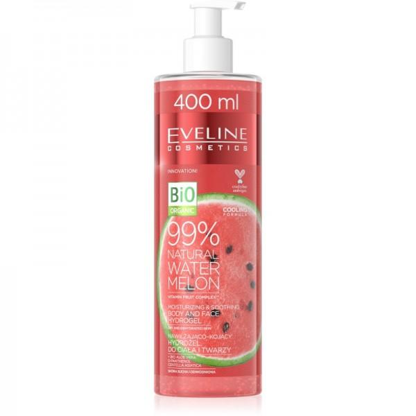 Eveline Cosmetics - Gel per la cura della pelle - Bio Organic - 99% Natural Watermelon Body & Face Hydrogel