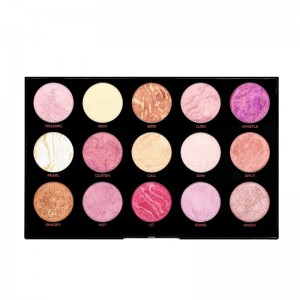 Makeup Revolution - Makeup Palette - HD Pro Amplified Get Baked Palette