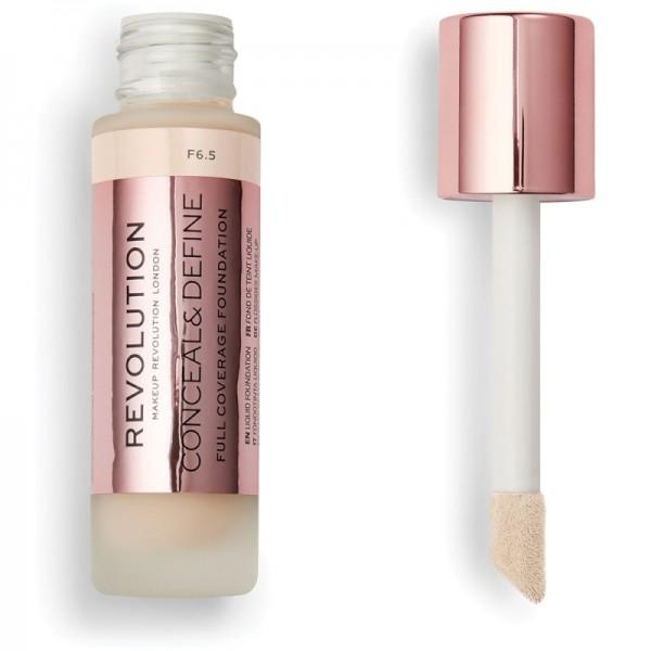 Makeup Revolution - Conceal & Define Foundation F6.5