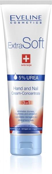 Eveline Cosmetics - Handcreme - Extra-weiches Hand- und Nagelcreme Konzentrat 3in1