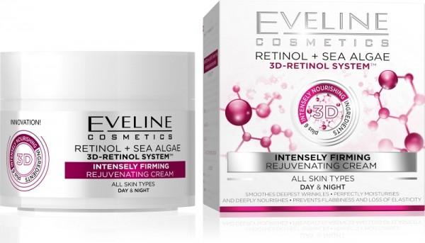 Eveline Cosmetics - Gesichtscreme - 3D-Retinol System intensiv straffende Tages- und Nachtcreme
