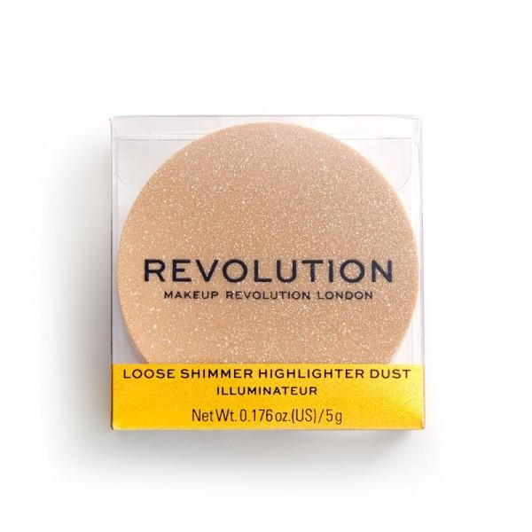 Revolution - Highlighter - Loose Shimmer Highlighter - Rose Quartz