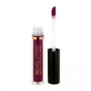 Makeup Revolution - Flüssiger Lippenstift - Salvation Velvet Lip Lacquer - Velvet Rebel