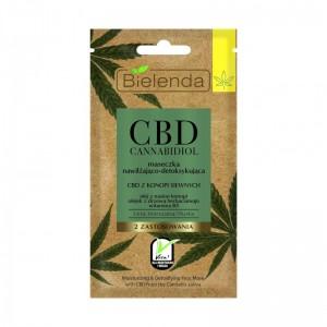 Bielenda - Gesichtsmaske - CBD Cannabidiol Face Mask Moisturizing And Detoxifying Mixed And Oily Ski