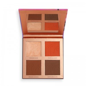 Revolution - Makeup Palette - Revolution x Tammi Golden Glow Deep Face Palette