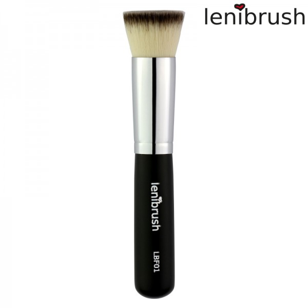 lenibrush - Kosmetikpinsel - Flat Top Kabuki - LBF01 - 3rd Edition