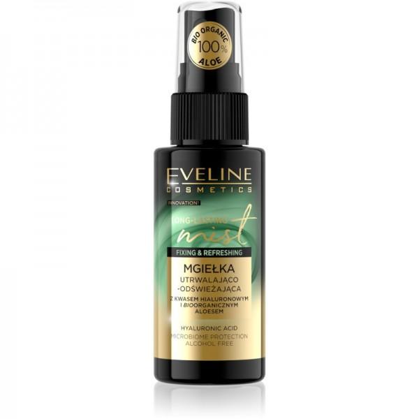 Eveline Cosmetics - Fixierspray - Makeup Long Lasting Fixing & Rrefreshing Mist Aloe
