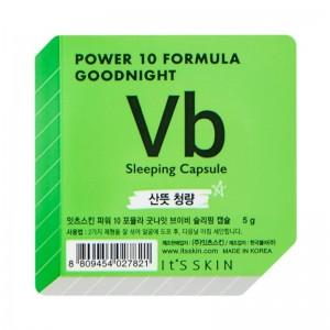 Its Skin - Gesichtsmaske - Power 10 Formula Goodnight Sleeping Capsule VB