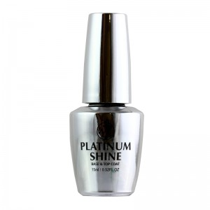 W7 Cosmetics - Top Coat - Nail Treatment - Platinum Shine - 15ml
