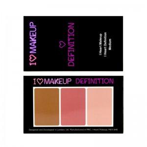 I Heart Makeup - Makeuppalette - I Heart Definition - Medium